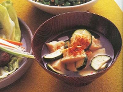 高野豆腐のみそ汁 レシピ 松田 美智子さん|【みんなのきょうの料理】おいしいレシピや献立を探そう (61249)
