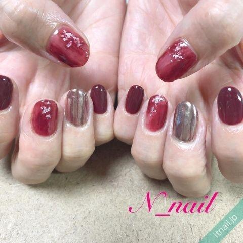 N_nailが投稿したネイルデザイン [photoid:I0094797] via Itnail Design (655341)