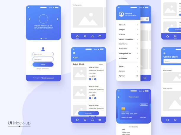 UI,UXデザインのイメージ