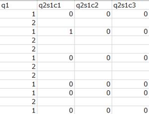 ローデータのサンプル