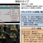 画像解析入門②:輝度コントラストの表示