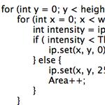 ImageJ plugin で面積計測を自動化してみた #3
