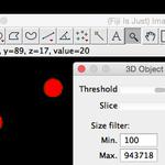 ImageJを使った体積測定