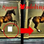 スパースモデリング ~少量データから画像を復元~
