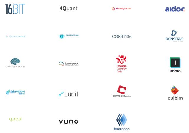 画像診断支援AIアルゴリズム開発企業