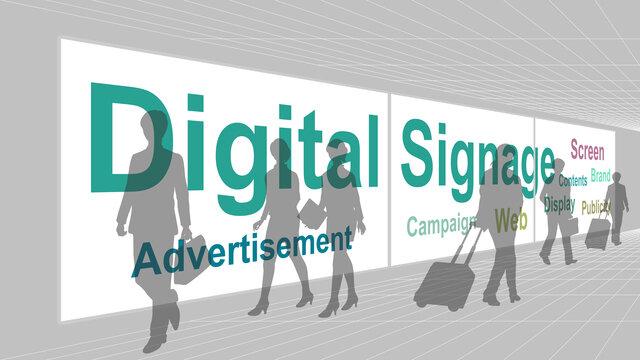 デジタルサイネージとは?その効果と動画の作り方|縦型にするソフトも紹介