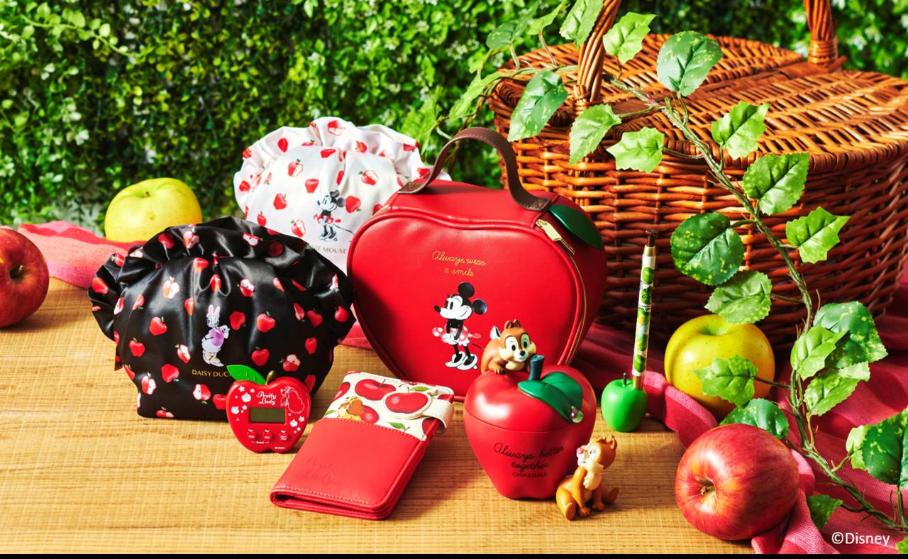 りんごの季節ですよー!Disneyキャラたちも秋仕様にチェンジ+゜