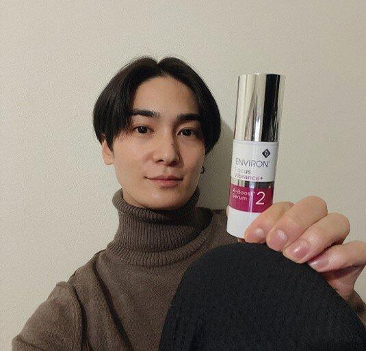 美肌への最高のケア見つけました。俳優 町井祥真 レチノール美容液のススメ