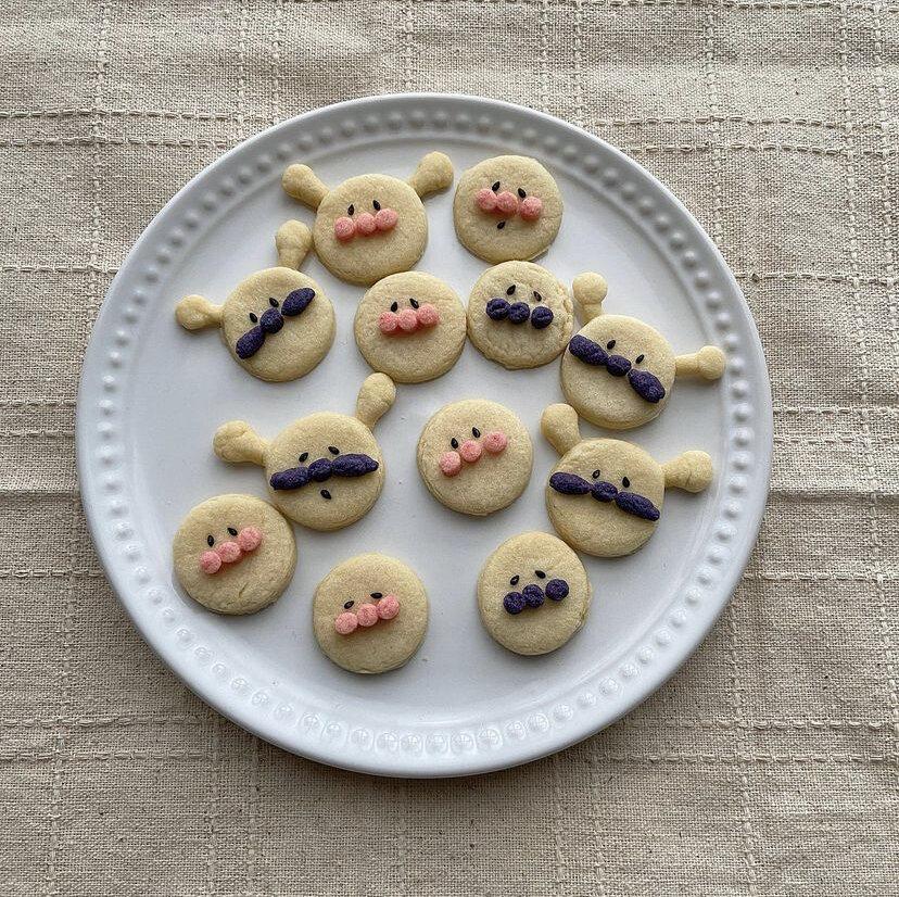 おうちカフェにもぴったり!好きなキャラをクッキーにしてみませんか?