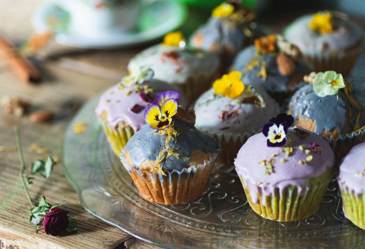 HANABARの『お花のマフィン』でおうちカフェに彩りをプラス♡