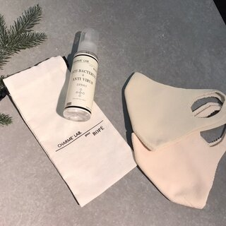 どんな肌色にも馴染むニュアンスベージュカラーのマスクが「ROPE'」から発売