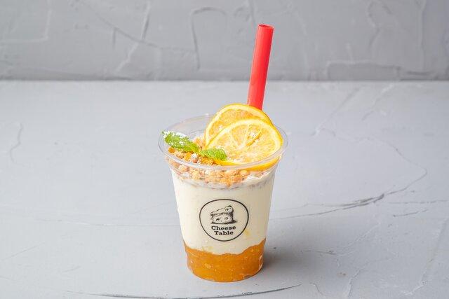 飲めるチーズケーキFrozen Styleソルティレモン テイクアウト価格:550円(税抜)