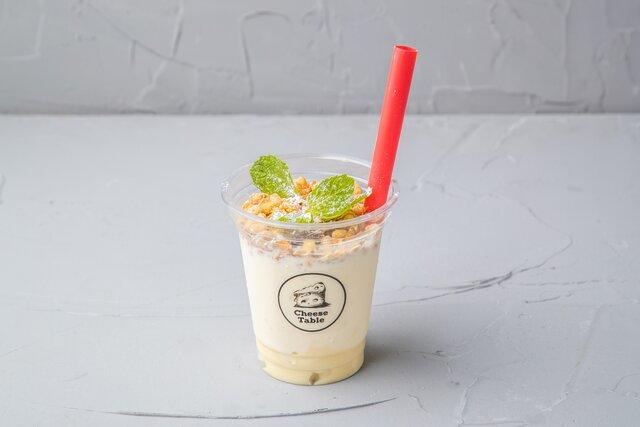 飲めるチーズケーキFrozen Styleハニーマスカル テイクアウト価格:550円(税抜)