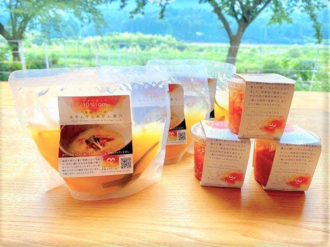 キムチ×みかんは意外と合う!?夏定番のそうめん、韓国冷麺風にアレンジ★
