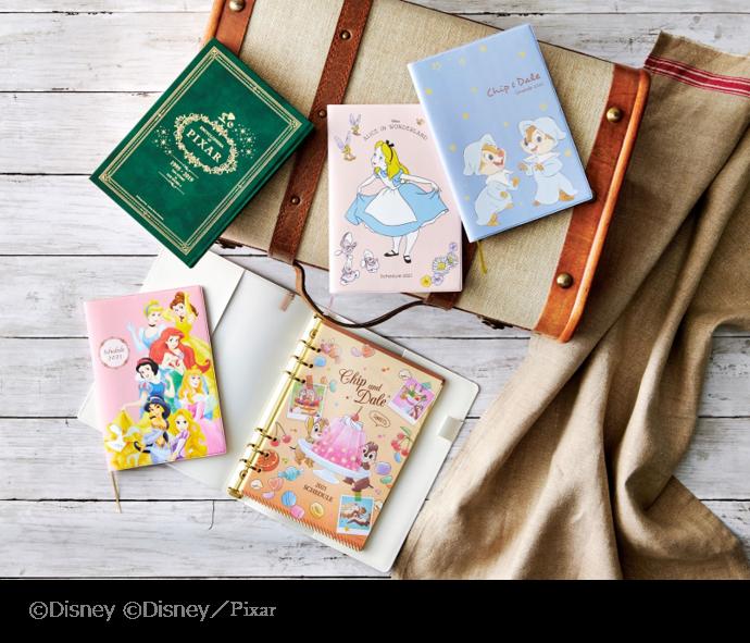 毎日が楽しくなる♡Disneyデザインのカレンダー&スケジュール帳