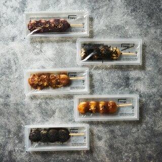 昔ながらのお団子も今っぽく♪和菓子テイクアウト専門店が日比谷にオープン