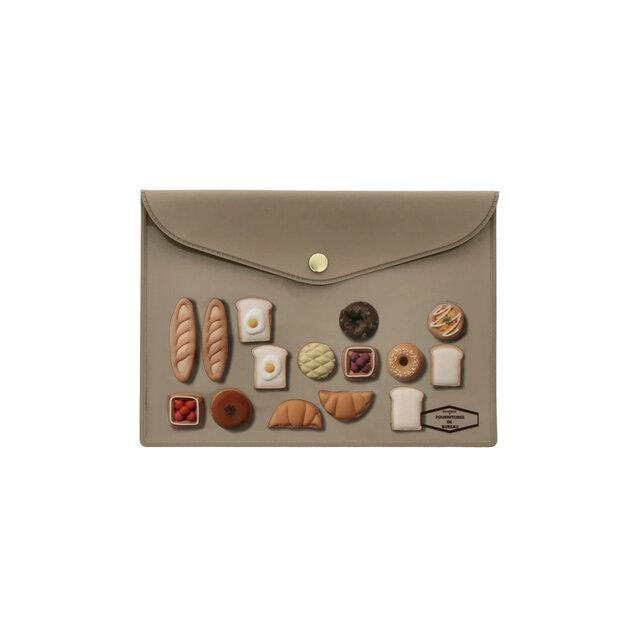 アイシングクッキー ANTOLPO ビニールブリーフケース A6 480円(税抜)