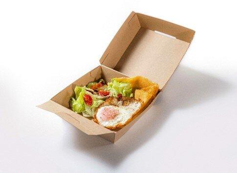 YORKYS Creperie 《とろーり4種のチーズクレープとカリカリベーコンのサラダ》