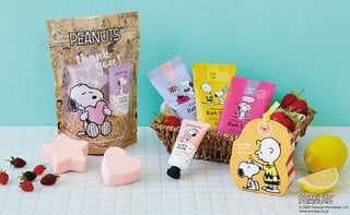 スヌーピーと一緒にハンドケア♡香りも楽しめるハンドケア製品とバスアイテムが登場!