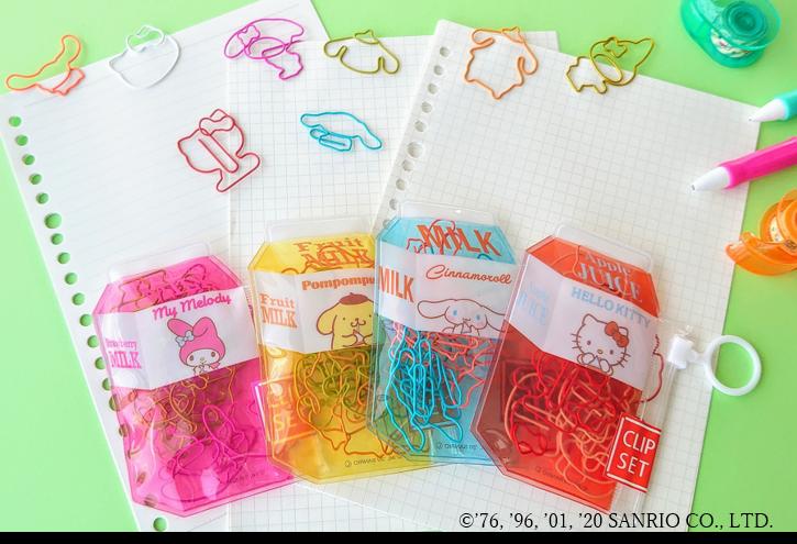 日常を可愛くカラフルに♡サンリオキャラクタークリップで気分を上げちゃおう!