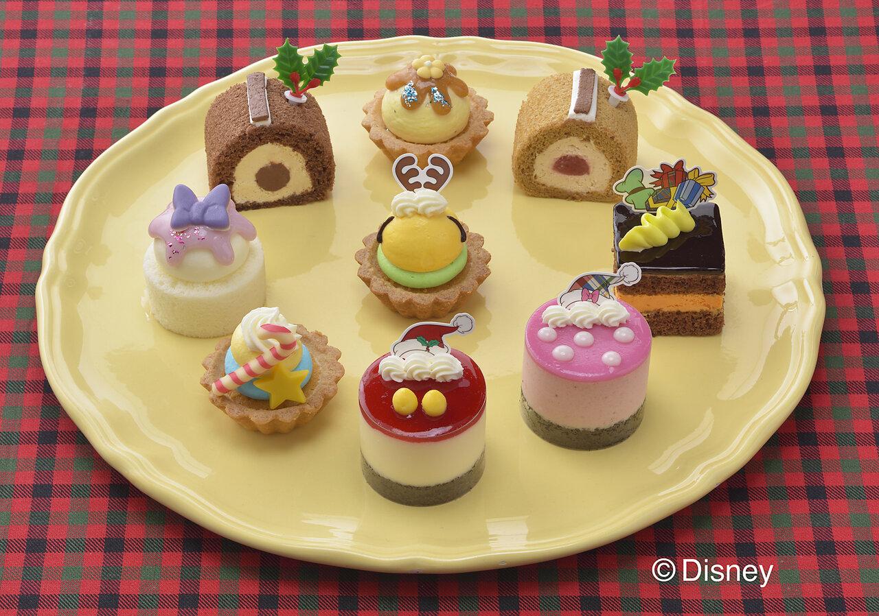 おうちクリスマスの主役に♪可愛すぎる「ミッキー&フレンズ」のプチケーキはいかが?