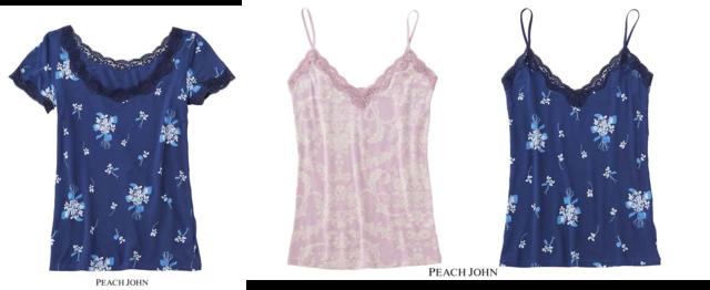 服と季節を選ばない「キャミ」と「半袖」