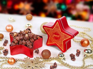 パッケージもフレーバーもクリスマス仕様🎅ギャレットポップコーン「Holiday Party」