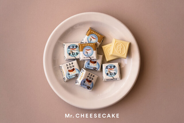 チロルチョコ <ミスターチーズケーキ> 42円(税抜)