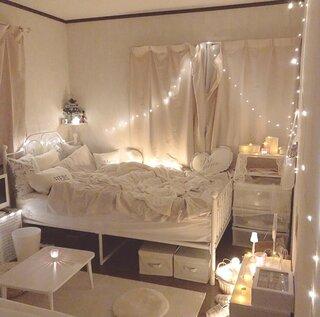 「#間接照明のある暮らし」より垢抜け部屋のインテリアをご紹介♡~3種の照明たち~