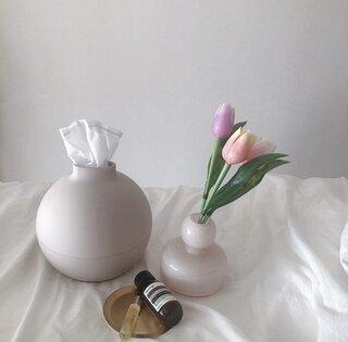 フォルム買いでしょ‼こんな形の花瓶は初めて!#フラワーベースをご紹介🌸