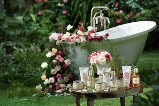 王妃の庭に咲くホワイト・ローズって?SABONのバスグッズに新しい香りが仲間入り!