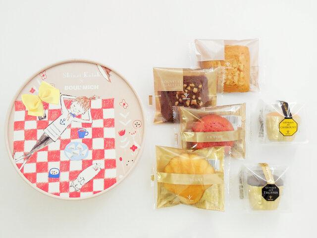 【春の焼菓子BOX】(6個入)1,188円(税込)