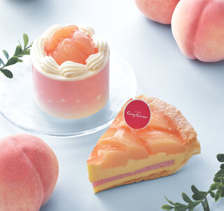 夏の人気フルーツ「白桃」を使ったスイーツでおうち時間をちょっぴり贅沢に