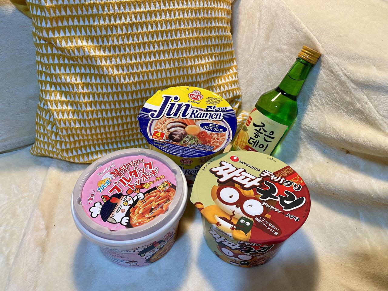 辛うま♡ドンキで買えちゃう韓国カップ麺3選!