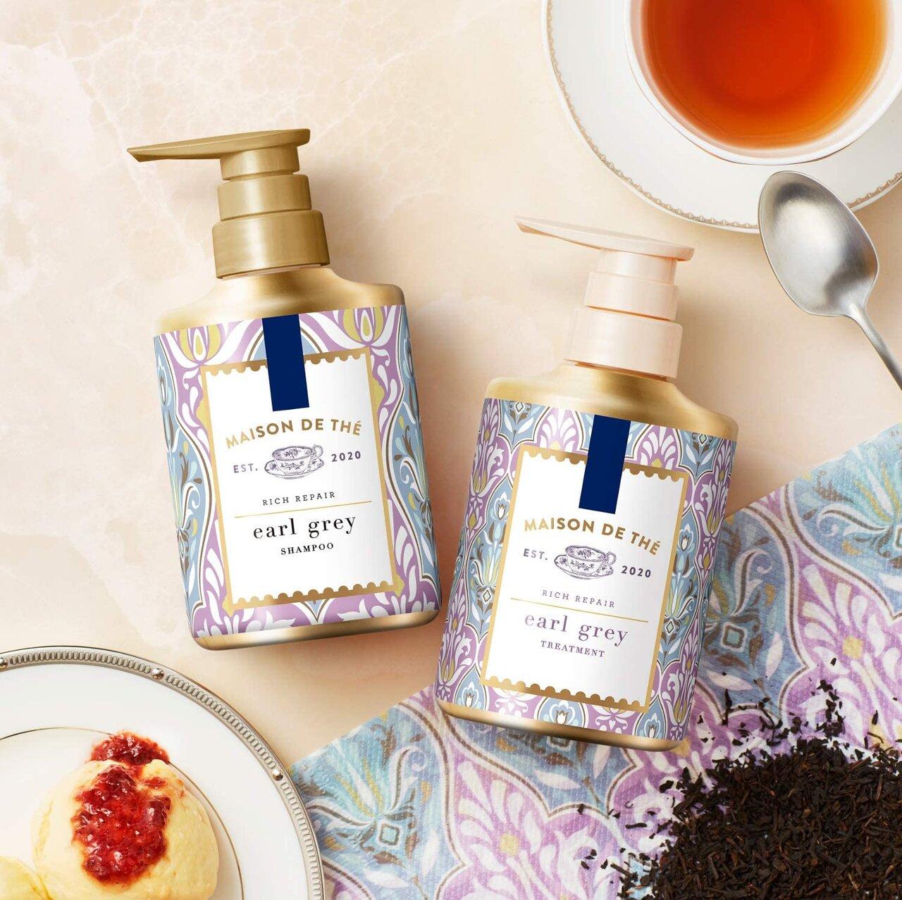 紅茶の香りで癒される♡ ヘアケア商品まとめ.:。+゚