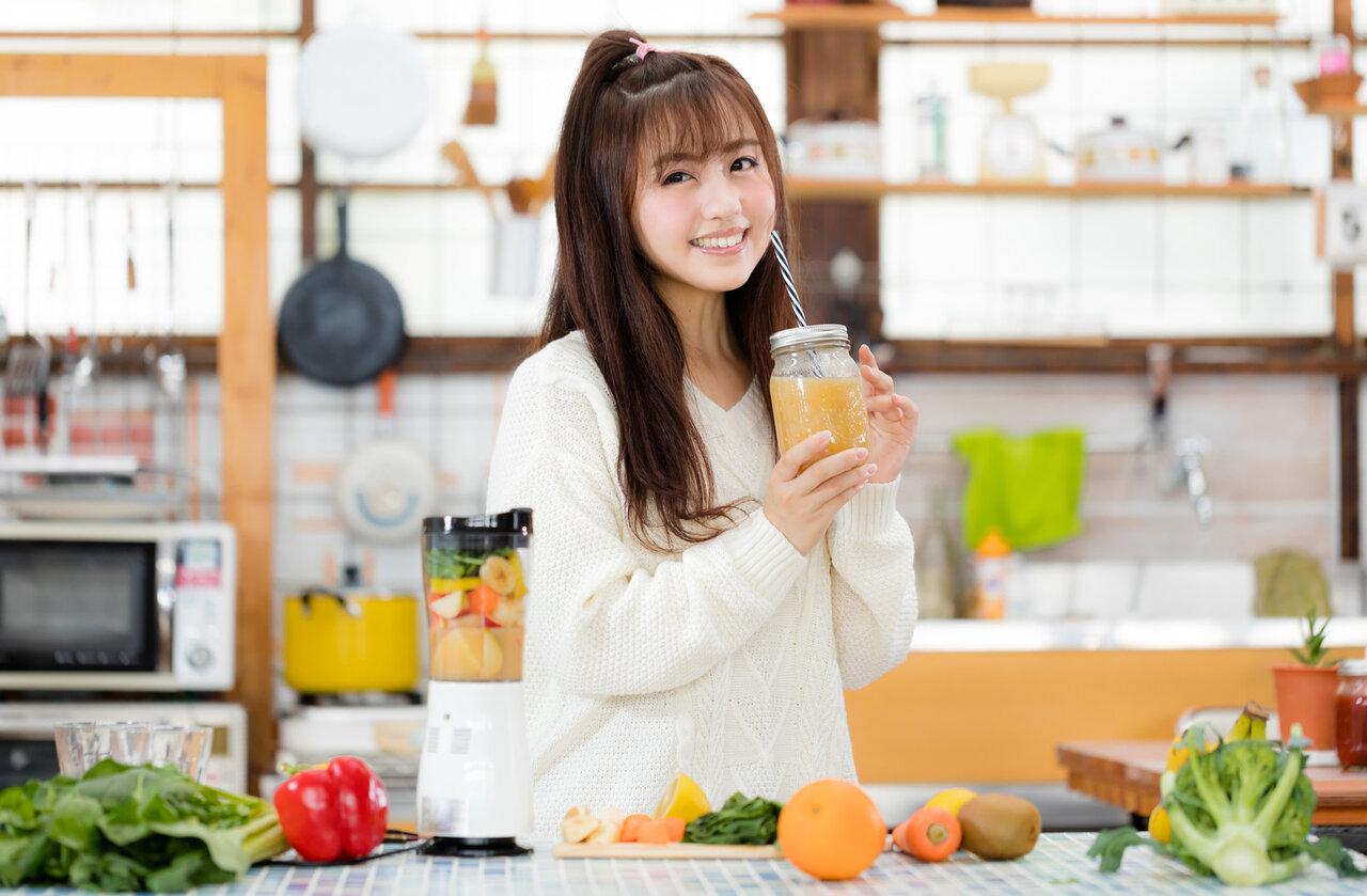 美髪や健康に♡髪に良いスムージーのレシピをご紹介!