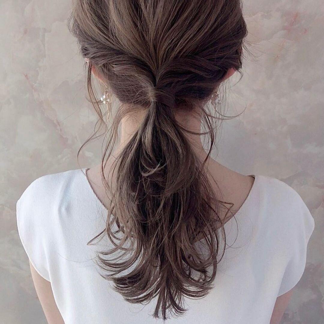 後ろ姿がかわいい髪型のポイントとおすすめを髪型別で分けてみた