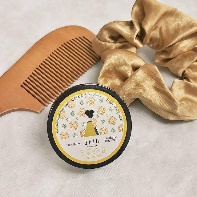 コトノカは人気!髪に付けるならバームや練り香水がおすすめ!