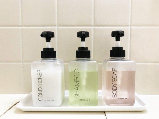 シャンプーなどの詰め替え用ボトルの洗い方・乾かし方まとめ