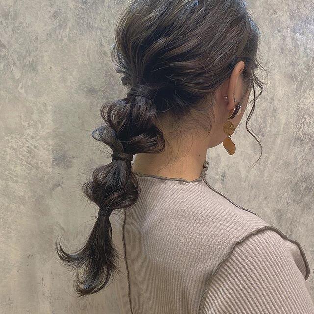 超簡単♡たまねぎヘアをより可愛く魅せるヘアアレンジ方法