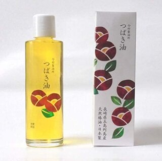 原料は長崎・五島産ヤブ椿を100%使用。 新規導入搾油...