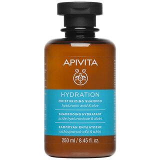 APIVITA ホリスティック ヘアケア 保湿シャンプー - ヒアルロン酸&アロエ 250ml (9260)
