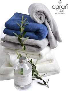 ●優れた吸水力と抜群の速乾性、そしてシルクのような肌触...