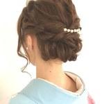 マナーを大切に。結婚式用の着物にぴったりな髪飾り選び♪