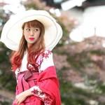 カラーリングが印象変化のカギ♡ 卒業式の袴に合わせる髪型