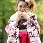 卒業式の袴は【茶色+ブーツ】!オトナ美人がおすすめです♡