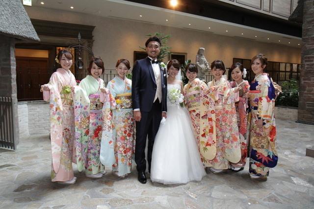 ホテルモントレ グラスミア大阪のプランナーブログ「結婚式にはお着物で!