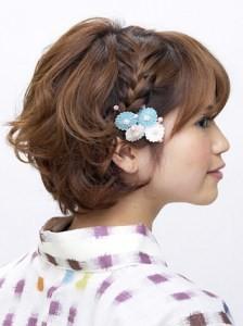成人式の髪型でショートを可愛くアレンジしたい方、必見! (1891)