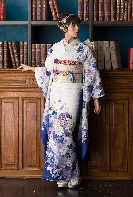 NO.1729 正絹 京友禅|成人式の振袖販売、振袖レンタルの京都きもの友禅 (3796)