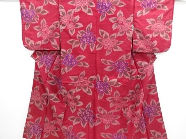 [ アンティーク着物 ] - 大正ロマン 大正ロマン 花模様織り出し銘仙着物 | 着物、アンティーク着物、リサイクル着物のシンエイ (3871)